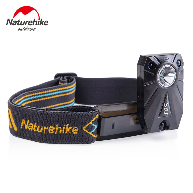 NatureHike Outdoor Mini Rechargeable LED Headlamp Sensor Headlight Camping Fishing Head Light Torch Lamp With USB