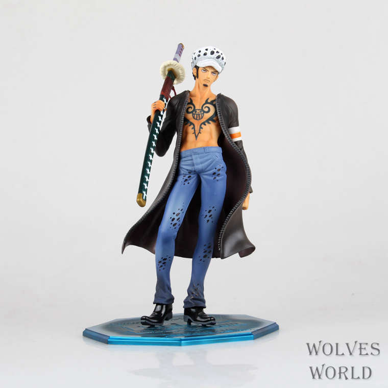 Anime POP One Piece Trafalgar Law 1/8 PVC Action Figure Collectible Model Toy 9.5 24cm Free Shipping OPFG346 stylish 3 pcs lot two tone ombre straight 8a virgin indian hair weave for women