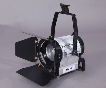Group CE-1500WS LED video spotlight, dimmable light camera, remote control headlamp rack CD50
