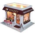 Handmade Doll House Furniture Miniatura Diy Doll Houses Miniature Dollhouse Wooden Toys For Children Grownups Birthday Gift 3825