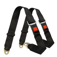 EE support Universal 2Pcs Car Seat Belt 2 Point Adjustable Truck Lap Styling Safety Accessories