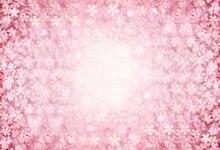 HUAYI horizontal rosa flores fotografia adereços foto do casamento pano de fundo floral recém-nascidos fundo XT-6547