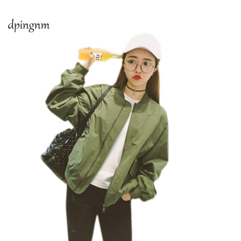 2019 Fashion Women's   Jacket   Spring Coats Long Sleeve   Basic     Jackets   Bomber Thin Women's   Jacket   Windbreaker Female   Jackets   Outwear