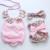 2015New chegada boutiques de verão do bebê da criança do bebê meninas floral do vintage plissado pescoço romper calções de pano com arco nó cabeça