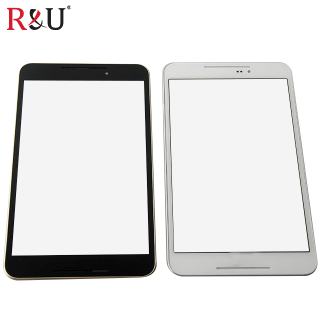 R&U LCD Display screen Touch Screen Digitizer Sensor Glass with frame For Asus Fonepad 8 FE380CG FE380 ME380 K016 black