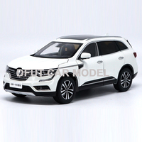 1:18 Alloy Pull Back Toy Vehicles KOLEOS Car Model Of Children's Toy Cars Original Authorized Authentic Kids Toys
