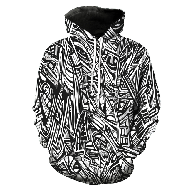 2fe7485601f74 2018 New Fashion Men's sweatshirt zebra print hoodies casual tracksuits  hoody tops with pockets Free shipping s to 6xl