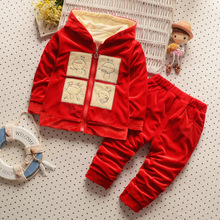 Hot Winter Hooded Kids Clothes Baby Boys Clothing Set Children Clothes Sets Toddler Boys GirlS Clothing Set Korean 2016 New 2pcs