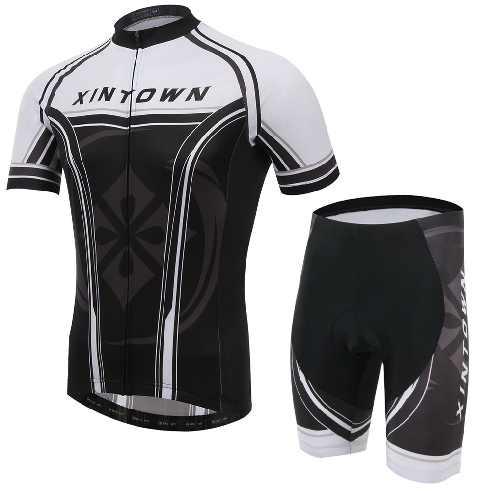 XINTOWN Cycling Jersey Sets 2018 Pro Team Cycling Clothing Men Ropa Ciclismo Bicycle Clothes Short Sleeve MTB Road Bike Sets polyester summer breathable cycling jerseys pro team italia short sleeve bike clothing mtb ropa ciclismo bicycle maillot gel pad