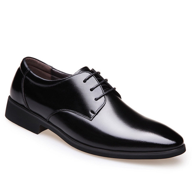 Suit Shoes Banquet Pointed Shoes Men Dance Bureau England Trend Wedding Shoes Sports Male Flat Leather Workers Shoes Sneakers