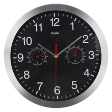 12 Silent Wall Clock Quiet Sweep Movement Metal Clocks No ticking Relogio de Parede Saat
