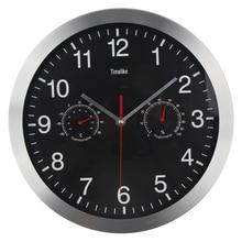 12″ Silent Wall Clock Quiet Sweep Movement Metal Clocks No-ticking Relogio de Parede Saat