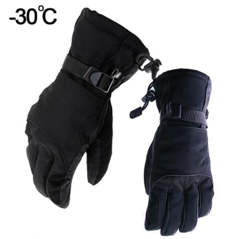 -30 Degrees Winter Gloves Men Riding Warm Gloves Outdoor Weatherproof Windproof Waterproof Warm Protective Gloves