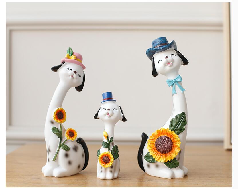 статуэтки животных талисман декор для дома миниатюры подарки маятники в офис на стол скульптуры для дома мебель мини сувенир керамика свад... - 2