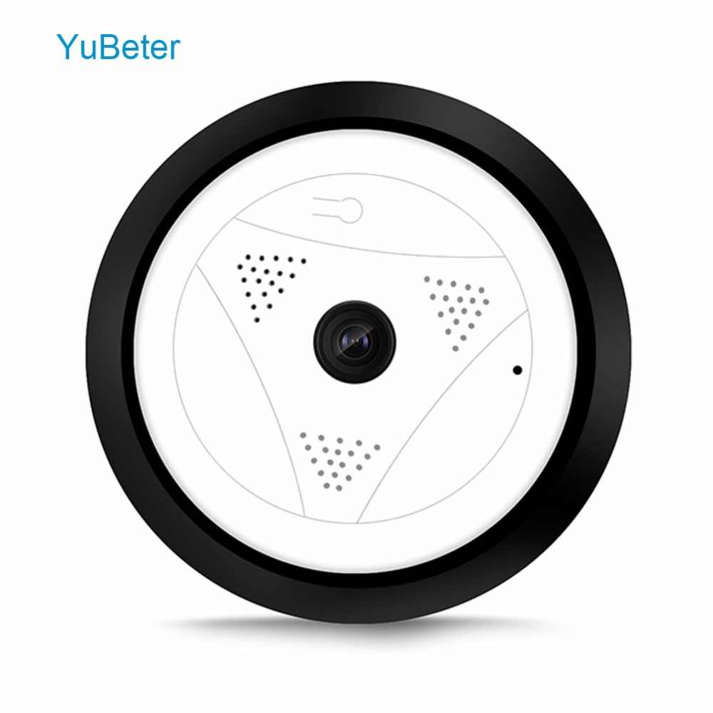 YuBeter Home Security 360 Camera CCTV Wifi IP Camera Panoramic Fisheye 960P 1.3MP Video Surveillance Night Vision Two Way Audio