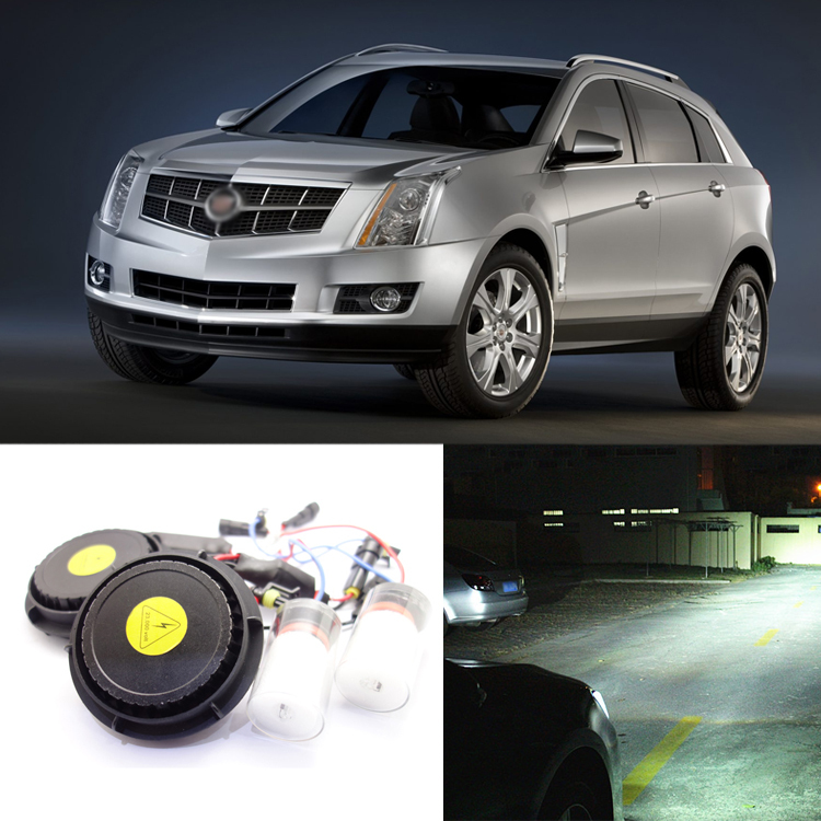 iPobooTech New Generation All In One Lower Beam Error Free H11 HID Lights For Cadillac SRX