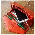 New Fashion 2016 Envelope Women Wallets PU Leather Mulit Design Carteira Feminina For Travel  Phone Money Purse WNB141