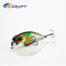 Fishing lure Twitching Sinking Minnow  Slow Sinking  Hard Baits 40mm 3g SM3-40S wlure 5 3g 8 3cm slim minnow lure very tight wobble slow sinking 2 6 treble hooks epoxy coating fishing lure m662