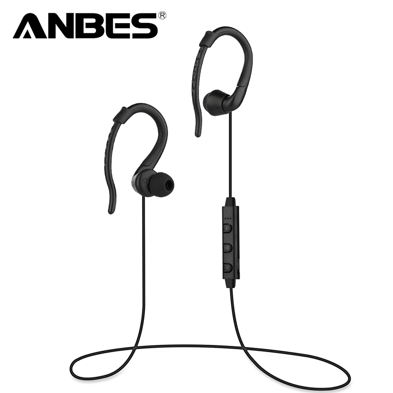 100% Original Wireless Headset Bluetooth 4.0 Stereo Ear Phone Sport Bluetooth Headphone Earphone For iPhone Samsung Audifonos universal led sport bluetooth wireless headset stereo earphone ear hook headset for mobile phone with charger cable