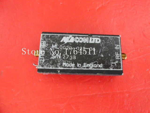 [BELLA] M/A-COM 0020-025-06 15V SMA supply amplifier