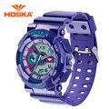 Fashion Sport Super Cool Children Quartz Digital Watch Boys Girls Watches HOSKA Luxury Brand Military Waterproof Wristwatches