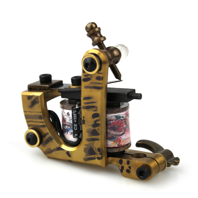 Alloy professional copper engraving tattoo machine liner tattoo 10 ...