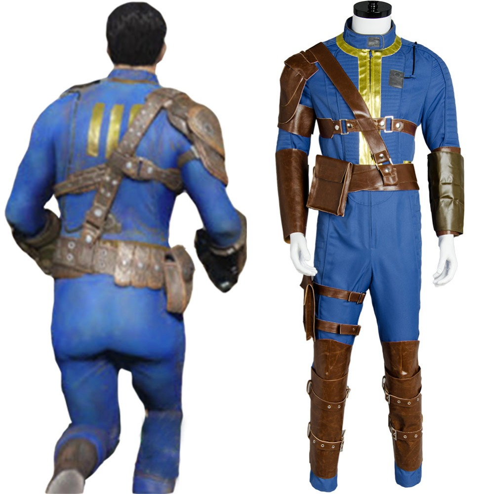 Fallout 4 Cosplay Costume Nate Cosplay Clothing Male Sole Survivor Hot Game Halloween Carnival Men Clothing