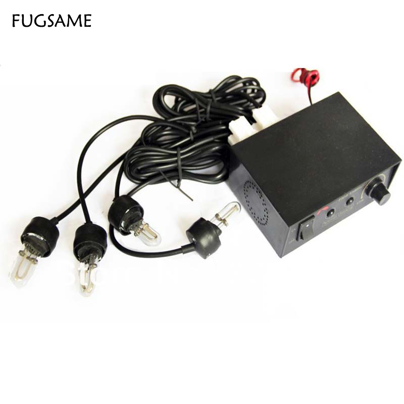 FUGSAME FREE SHIPPING 4 X Decorative Flash Strobe Light Bulbs Car Headlight in Signal Lamp from Automobiles Motorcycles