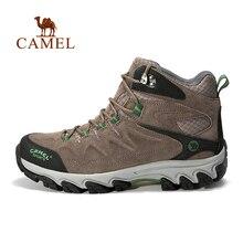 Camel camel for outdoor Men hiking shoes slip-resistant wear-resistant high outdoor shoes hiking shoes