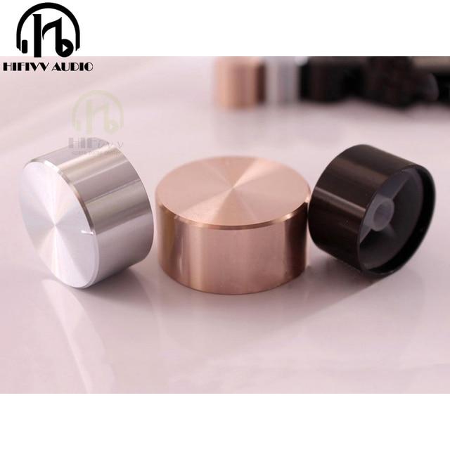 knob amplifier knob Aluminum Volume knob 1pcs Diameter 48mm Height 22mm audio hifi amplifier Potentiometer knob
