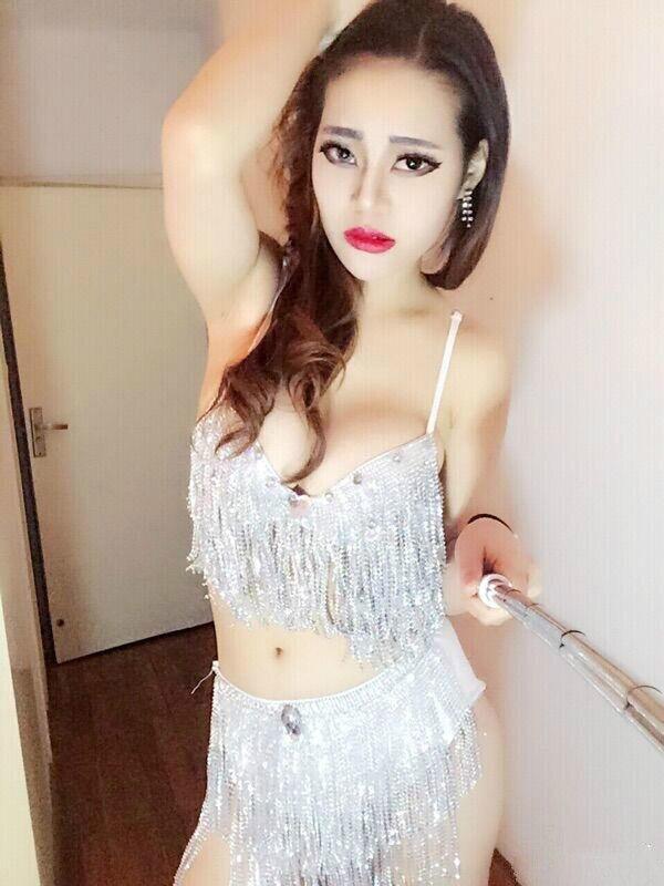 New Nightclub Ds Female Singer Bar Dj Lead Dance Performance Uniform Super Shiny Drill Raft Bikini Performance Stage Equipment
