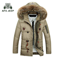 2017 Winter Jacket Men New arrival  Down Jacket  Warm Thick Mens Long Jacket Coat  Brand Men  Parkas jackets Clothes 150cy
