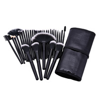 32Pcs Set Professional Makeup Brush Foundation Eye Shadows Lipsticks Powder Make Up Brushes Tools W Bag