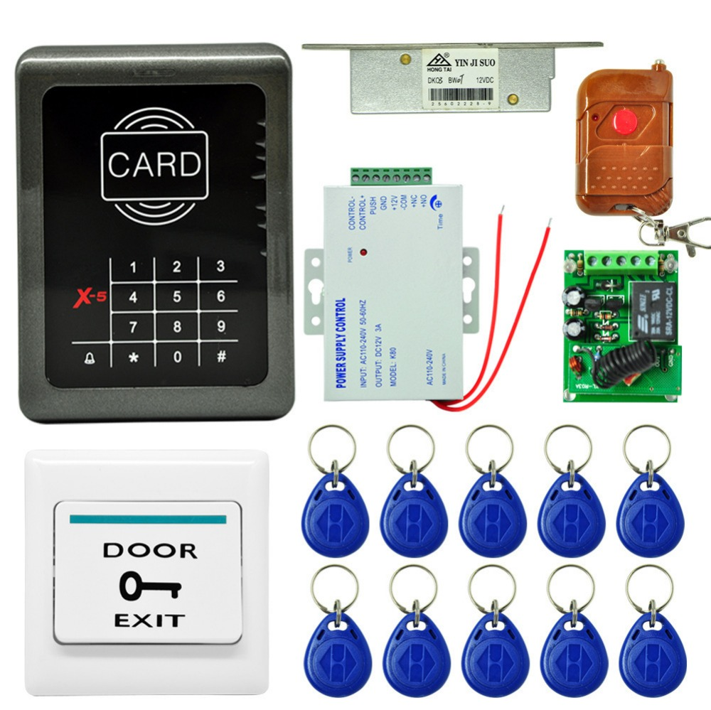 New Arrival Intercom System The Right Access Control System ID card unlock Remote Controller ...