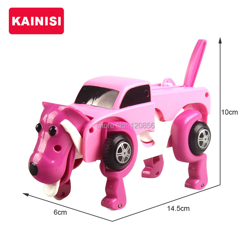 free-shipping-4-colors-14CM-cool-Automatic-transform-Dog-Car-Vehicle-Clockwork-Wind-up-toy-for-children-kids-boy-girl-toy-Gift-3