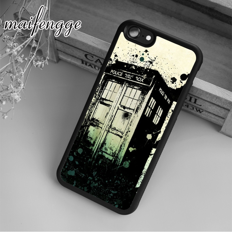 Cellphones & Telecommunications Maifengge Doctore Who Tardis Rubber Case For Iphone 6 6s 7 8 Plus X 5 5s Se Case Cover For Samsung S5 S6 S7 Edge S8 Plus Shell