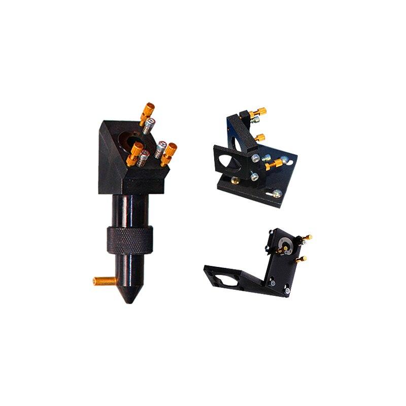 Láser Industrial de la cabeza conjunto de grabador láser sin reflectores sin lente CO2 láser kit