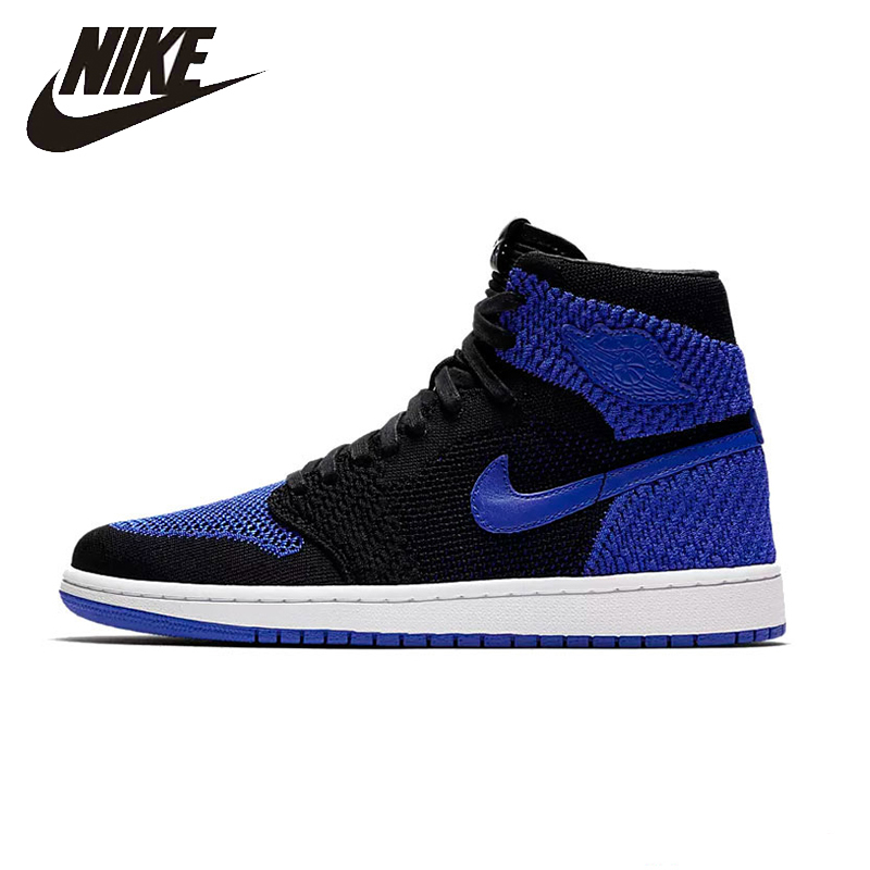 NIKE AIR JORDAN AJ1 Mens Basketball Shoes Breathable Stability Footwear  Super Light Support Sports Sneakers For cc74333ceb37