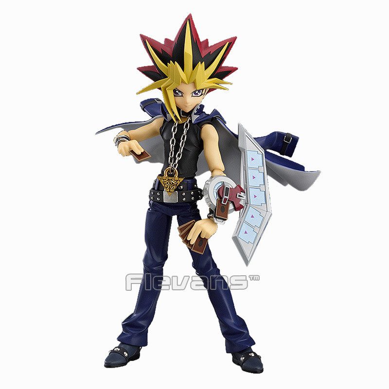 Yu-Gi-Oh! Duel Monster Yami Yugi Figma 276 PVC Action Figure Collectible Model Toy 15cm 20th atem muto yugi yu gi ohi yami yugi figma pvc action figure series collectable model toy doll gift