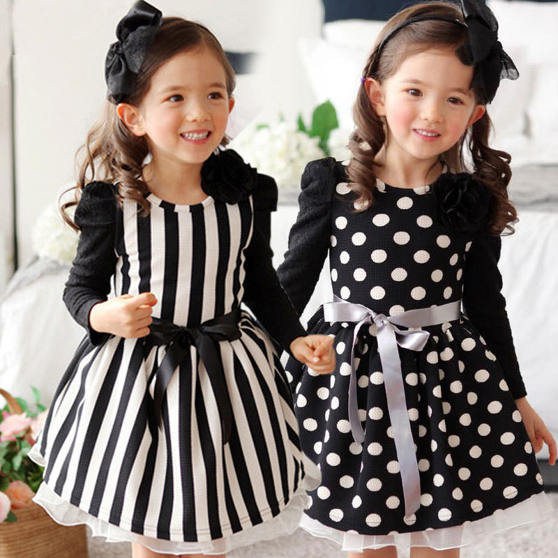 c837d576b Kids New Designer Clothes Spring Baby Birthday Party dresses for ...