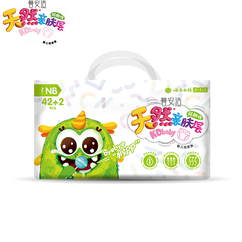 Baby Diapers Training Pants For Children NB Code 42 2 Baby Nappies 84PCS Disposable Infant Ultra Thin Dry Breathable Diapers in Disposable Diapers from Mother Kids