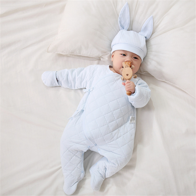 8a99fb86f3d9 2018 newborn baby girl baby romper carters baby clothes jumpsuits cotton baby  lace-up underwear recien nacido ropa bebe infantil