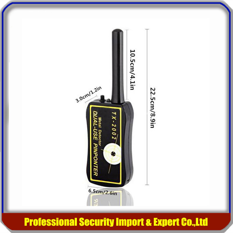 Handheld Metal Detector Dual Use PinPointer TX-2002 Professional Detectors Super Scaner Security Wand Factory Price big factory wholesale handheld metal detector tx 2002 dual use metal pinpointer tx2002