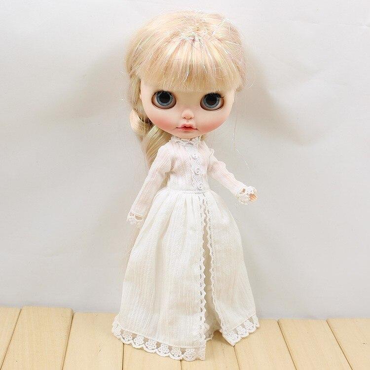 Neo Blythe Doll Vintage Long Dress 3