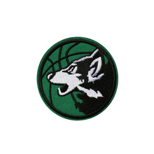 Custom embroidery patch Cloth Sticker iron on sew hook&loop Embroidery Creative Round Patches Wecome any design qty