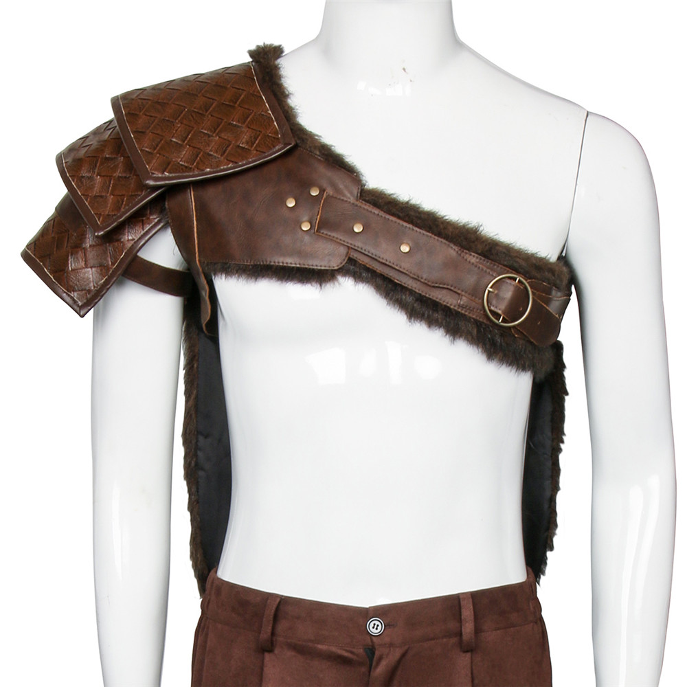 New Game God of War 4 Cosplay Kratos Shoulders Cross Shoulder Strap Halloween Fancy Dress Cosplay Kratos Costumes On Sale-in Game Costumes from Novelty & Special Use    1