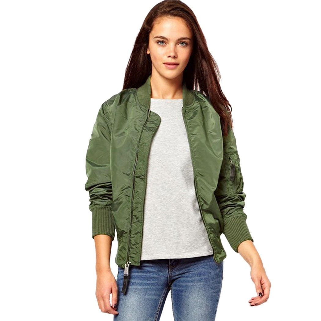 Aliexpress com buy stylish womens autumn winter jackets and coats casual classic zip up biker baseball coat female jacket for women from reliable jackets