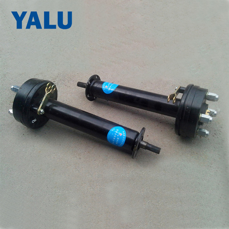 BM1418 Electric tricycle conversion rear axle bridge Differential speed BLDC brushless motor driver shaft jd 90 rear middle metal axle with differential lock
