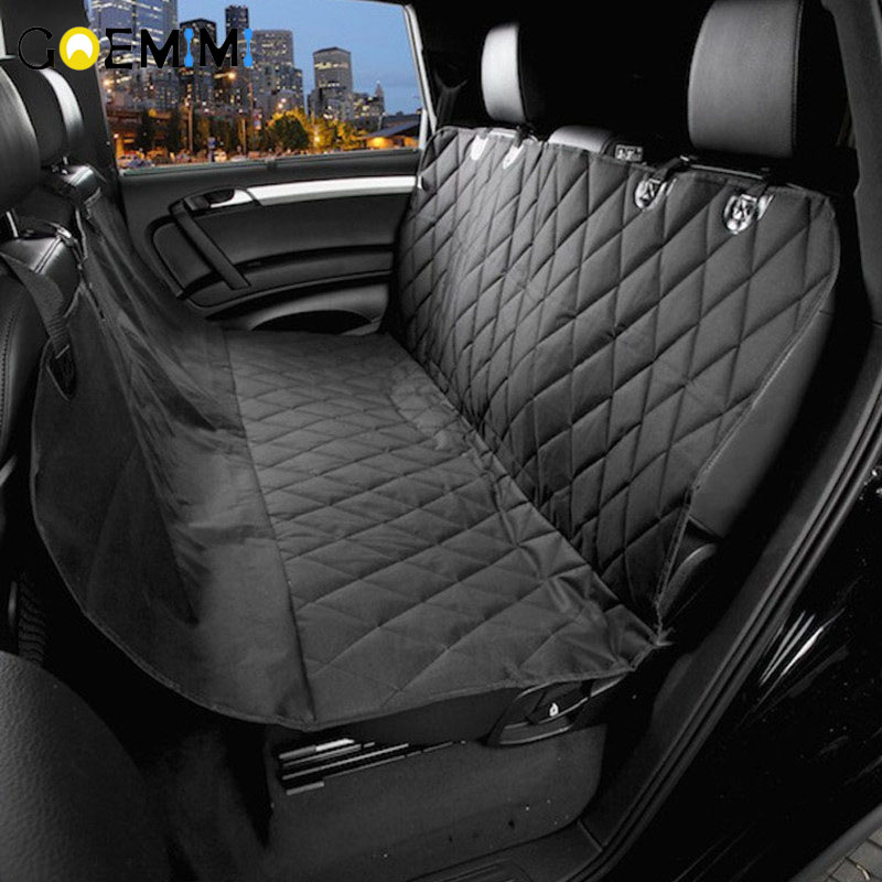 Pet Car Seat Covers For Big Dogs Waterproof Back Bench Seat Car Interior Travel Accessories Dog