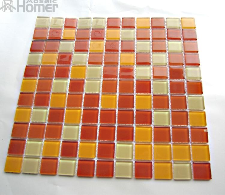 express shipping free cheap swimming pool mosaic tiles orange color bathroom mosaic 12x12. Black Bedroom Furniture Sets. Home Design Ideas